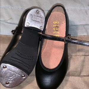 Black Bloch tap shoes